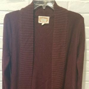 4/$20 - Ambiance Shawl Collar Cardigan Sweater - M